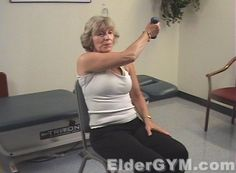Arm Training. Safe, Simple And Effective Exercise For Seniors And The Elderly. Watch our FREE exercise videos now!
