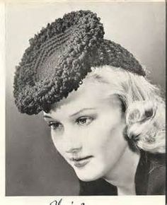 Crotched hat 1940