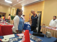 The Mystics Promo Squad made an appearance at the FEMA Health and Wellness Fair on July 26th, 2012.