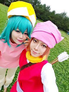 Pokkle and ponzu Hunter x Hunter cosplay