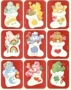 carebears in stocking