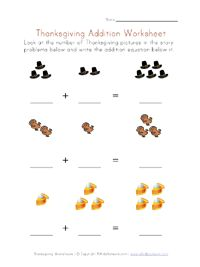 thanksgiving worksheets for preschoolers | View and Print Your ...