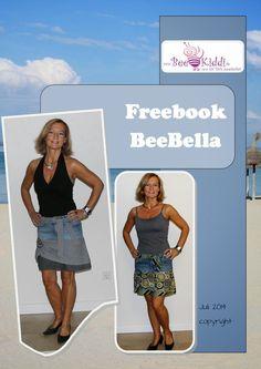 BeeKiddi - Ebooks - trendige Nähideen: BeeBella - über 10.000 Downloads in 10 Ländern