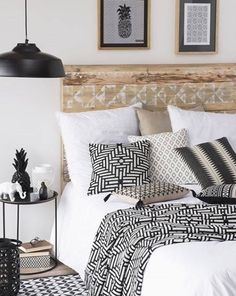 Black and white prints mixed