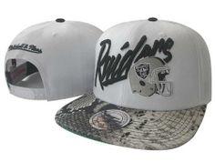 803e93b2928b1 $8.00 Mitchell and Ness NFL Oakland Raiders Stitched Snapback Hats 045