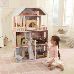 Grandview Mansion With Easy Assembly Children S Toys Pinterest