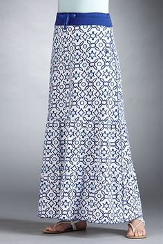 Beach Maxi Skirt - Print: Sun Protective Clothing - Coolibar