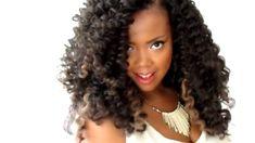 LONG & LUSCIOUS CURLY HAIRRR (CROCHET BRAIDS W/ MARLEY HAIR) - Black Hair Information Community