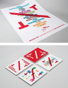 New Theatre Identity by Interbrand | Inspiration Grid | Design Inspiration