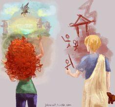 Rachel e Octavian
