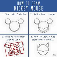 How to draw Mickey Mouse   http://ift.tt/2bYJ7S9 via /r/funny http://ift.tt/2bIE7mq  funny pictures