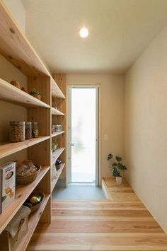 bcd02acb52c5fef2de1c7933d8611938 Ikea Billy Bookcase Hack, Pantry Room, Home Office, Natural Interior, Small Room Design, New Furniture, Living Spaces, New Homes, House Design