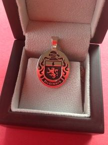 McGinnis family crest pendant