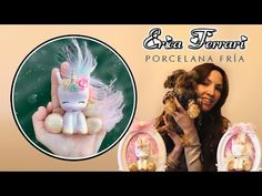 🐶 Erica Ferrari Porcelana Fría | Unicornio 3D | Clase Gratis | DIY | Tutorial Fácil - YouTube Clay Projects, Clay Crafts, Ferrari, Cold Porcelain Tutorial, Unicorn Doll, Polymer Clay Dolls, Porcelain Clay, Doll Tutorial, Pasta Flexible