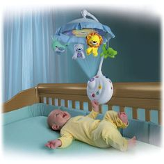 Precious Planet 2-in-1 Projection Mobile A fantastic Mobile for babies an toddlers. This unit makes bedtime far easier with soothing images and sounds.