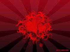 Red heart wallpaper