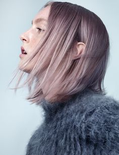 Dust in the Wind - The new washed-out hair color is totally to dye for.