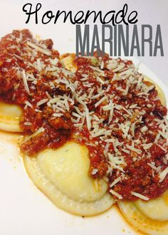 Lou Lou girls : Homemade Marinara