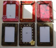 Decorate your own picture frame - gift idea?