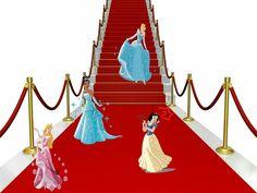Disney princesses on the red carpet