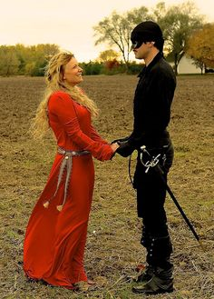 Buttercup and The Dread Pirate Roberts Couples Halloween Costume #ThePrincessBride