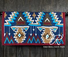 Saddle Pads, Pretty Horses, All Design, Kids Rugs, Make It Yourself, Blanket, Wool, Tack, Handmade