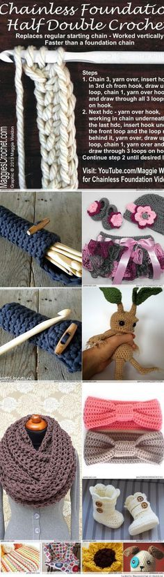 Crochet Patterns ❥Teresa Restegui http://www.pinterest.com/teretegui/❥