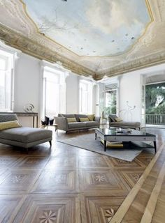 Find Out More About The CONTREPOINT LARGE SOFA From Nouveaux Classiques Collection As Well Other Designs Same Range