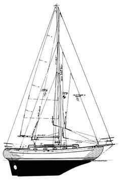 Sailors who admire the Baba 35 are quick to point out that the bluewater cruiser possesses both beauty and brawn. The full-keel, double-ended cutter was designed by naval architect Robert H. Perry. When it first splashed in 1979, the boat was dubbed