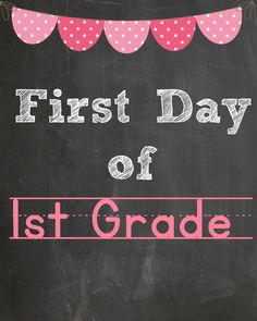 @goldenstatemom first grade free printable