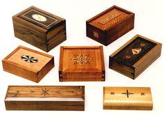 Inlay Woodworking Wood inlay Banding: Make square model :Wood