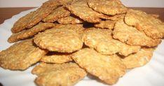 Készíts te is kalóriaszegény kekszet. Diabetic Recipes, Diet Recipes, Vegan Recipes, Snack Recipes, Snacks, Healthy Sweets, Healthy Eating, Savory Pastry, Hungarian Recipes
