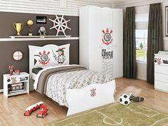 Que tal um quarto do #corinthians ? Legal, né? clique na imagem e veja os itens para você comprar!