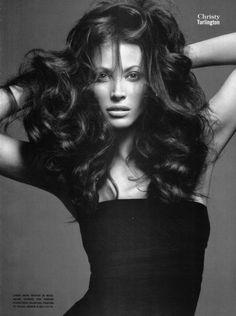 Christy Turlington by Mario Sorrenti for Vogue Italia July 2009 _
