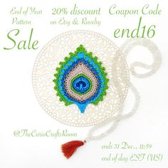 My end of year pattern SALE is still running on Etsy and Ravelry. If you would also like to profit from the 20% discount, the sale ends tomorrow 31 Dec, 11:59 end of day EST (US). Use Coupon Code: END16 to get 20% off on any pattern  www.etsy.com/shop/thecuriocraftsroom www.ravelry.com/designers/christa-veenstra