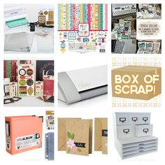 Giveaway at the fabulous Scrapbook steals
