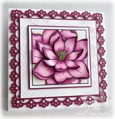 Card created by Janette Olen using Sweet 'n Sassy stamps