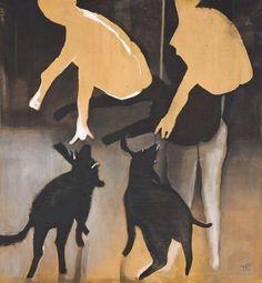 Rachel Whiteread, Hilma Af Klint, Figure Painting, Artist At Work, Moose Art, Animals, Instagram, Polish, Paintings