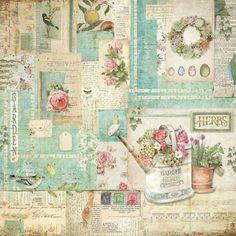 Vintage Paper Crafts, Papel Vintage, Decoupage Vintage, Decoupage Box, Printable Scrapbook Paper, Scrapbook Cards, Vintage Labels, Vintage Ephemera, Altered Canvas