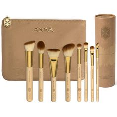 BAMBOO Set Vol. 2 #WANT I would love to have a nice bamboo makeup brush set like this!