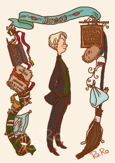 Aquí os presentamos unos cuantos FanArt de Harry Potter...