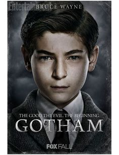 Bruce Wayne a.a Batman in his early years in Gotham. He's so adorable, and it's so good to see what batman was like in his early years rather than what he turned out be later on in life. Gotham City, Gotham Movie, Gotham Bruce, Gotham News, Gotham Tv Series, Jerome Gotham, Movie Tv, Dc Comics, Catwoman