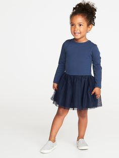 e3a8a4faa6c7 Scoop-Back Tutu Dress for Toddler Girls | Old Navy Toddler Girl Dresses,  Toddler