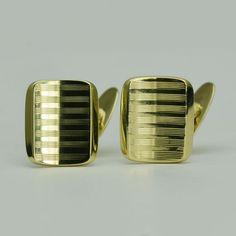 Butoni din aur galben Aur, Cufflinks, Accessories, Jewelry, Jewellery Making, Jewels, Jewlery, Jewerly, Wedding Cufflinks