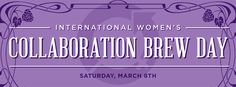 International Women's Collaboration Brew Day! Way to go, @Denise Ratfield !! GREAT SUCCESS!! #IWCBD14