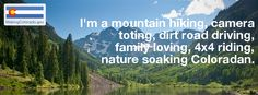 This is what makes me a Coloradan. From @Making Colorado