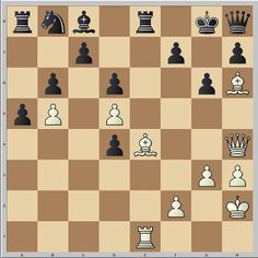 Attacking chess tactic. White to move. How should White proceed? www.echecs-et-strategie.fr #chess #echecs