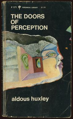 Doors of perception (1970 ed., cover design by pat steir)