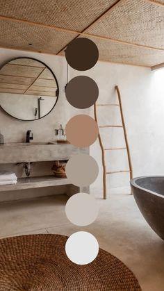 Paint Colors For Home, House Colors, Aesthetic Colors, Neutral Colour Palette, Colour Schemes, Colorful Interiors, Color Inspiration, Bedroom Decor, Decoration