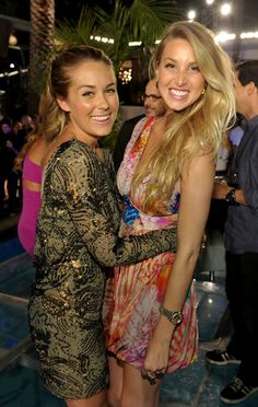 GORGEOUS BBFF (blonde best friends forever) - Lauren Conrad and Whitney Port.